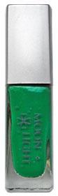 Зеленая клей-краска для временной татуировки блестками moon light