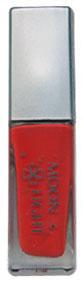 Красная клей-краска для временной татуировки блестками moon light